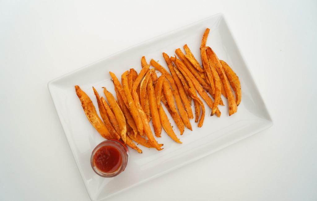 On a Healthy dventure Zoete aardappelfrietjes 2