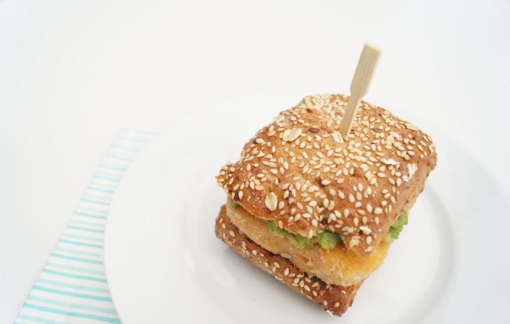 On a Healthy Adventure burger