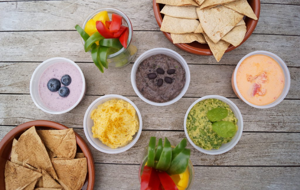 On a Healthy Adventure OS chips & dips 2