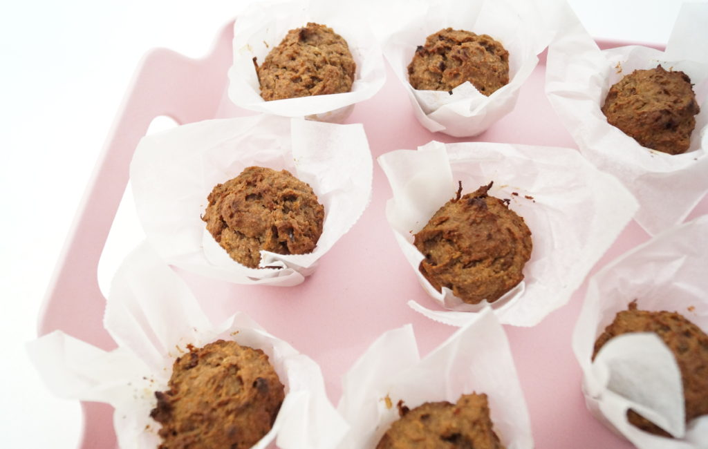 On a Healthy Adventure On the Go coffee muffins